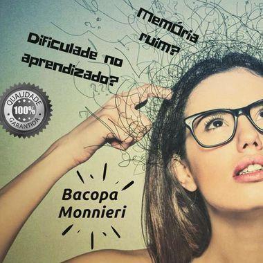 Bacopa Monnieri 250 mg : Memorização Retenção de Informações - 60 doses
