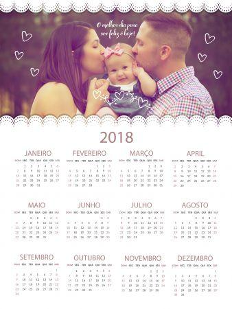 Calendário Personalizado em Campinas