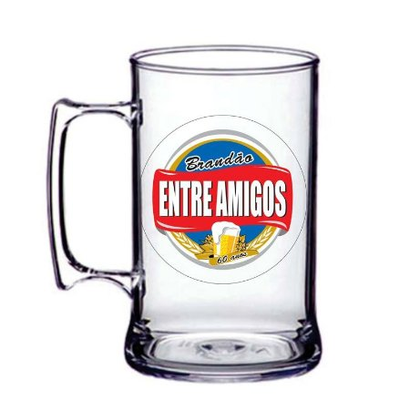Caneca acrilico 400ml ( Estampa Colorida )