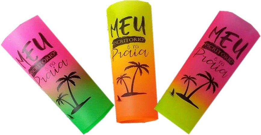 Copo Long drink 350ml degradê Summer Personalizado
