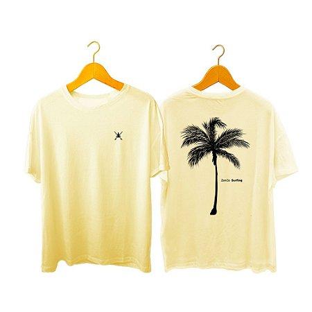 Camiseta Zen Co Surfing Palm tree