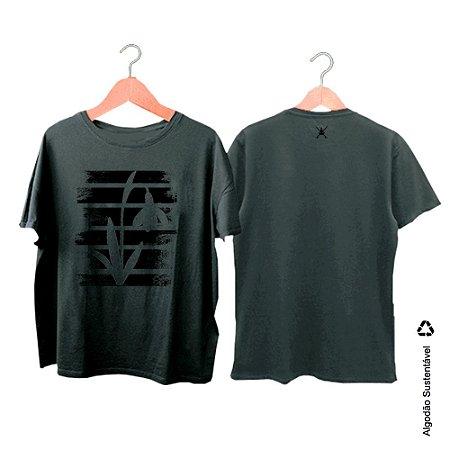 Camiseta Zen Co Flower background