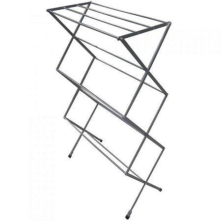 Varal sanfonado de chão vertical