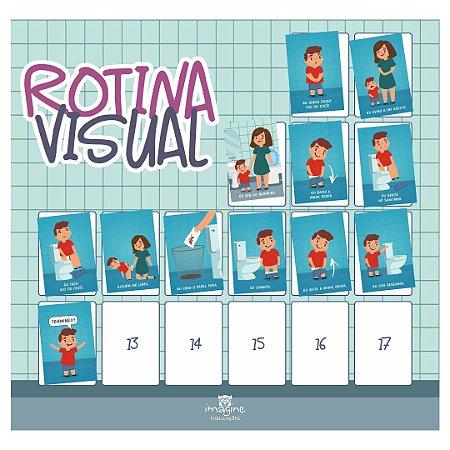 Rotina Visual - Eu sei usar o banheiro (desfralde)