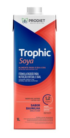 TROPHIC SOYA 1LITRO - CAIXA C/12 UNIDADES