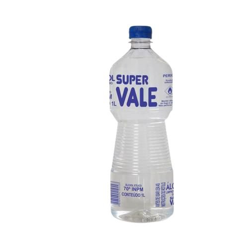 ÁLCOOL 70 SUPER VALE- 1L