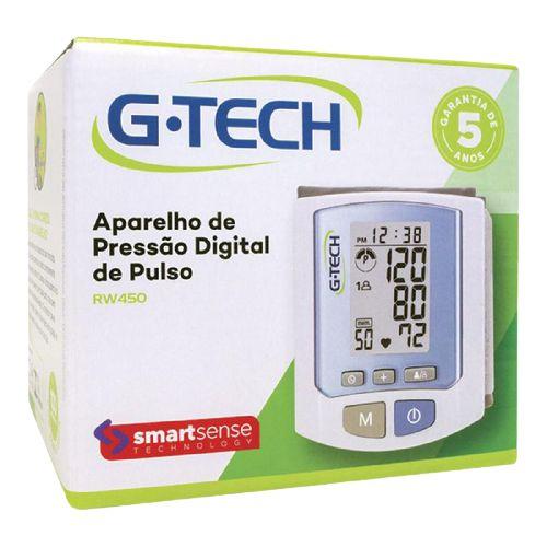 APARELHO DE PRESSÃO DIGITAL DE PULSO G-TECH RW450