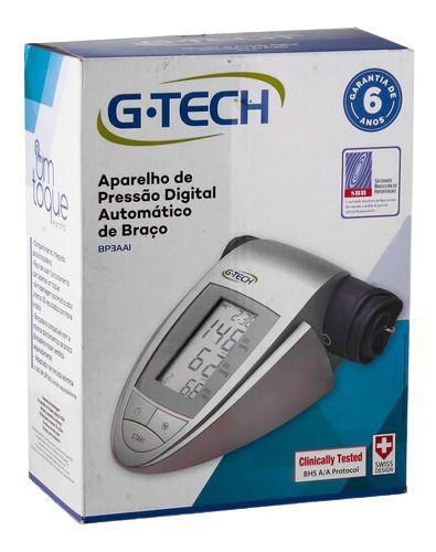 APARELHO DE PRESSÃO DIGITAL AUTOMATICO DE BRAÇO G-TECH BP3AAI