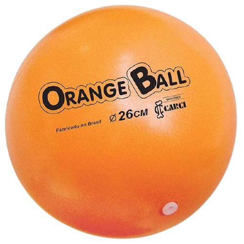 BOLA PARA EXERCICIOS CARCI - ORANGE BALL 26CM
