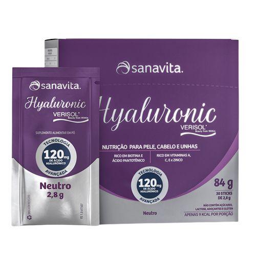 HYALURONIC VERISOL 30 SACHÊS - SANAVITA