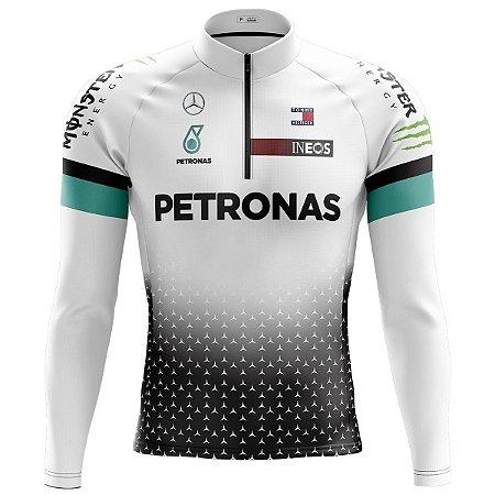 Camisa Ciclismo Mountain Bike Petronas F1 Manga longa