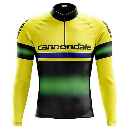 Camisa Manga longa Ciclismo Mountain Bike Cannondale MOD 112