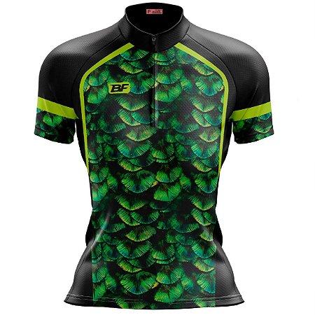 Camisa Ciclismo Mountain Bike Feminina Amazônia