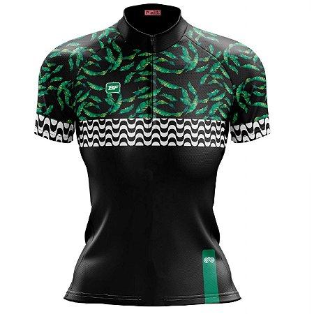 Camisa Ciclismo Mountain Bike Feminina Pantanal