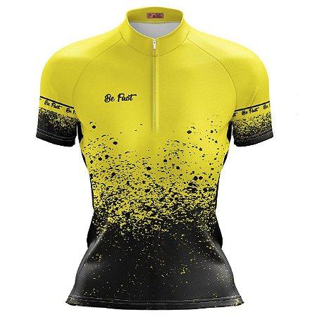 Camisa Ciclismo Mountain Bike Feminina Respingos MOD 227