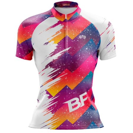 Camisa Ciclismo Mountain Bike Feminina Pincel