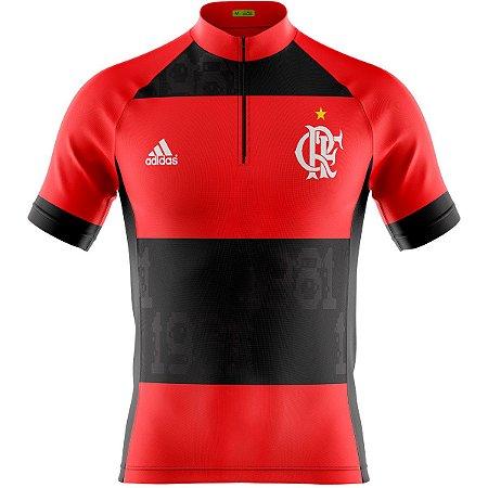 Camisa Masculina Manga Curta Flamengo 2021 MTB Dry Fit