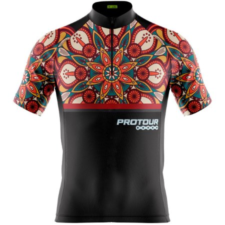 Camisa Ciclismo Mountain Bike Masculina Pro Tour Mandala