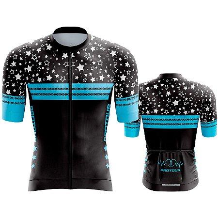 Camisa Ciclismo Pro Tour Premium Estrelas Mountain Bike
