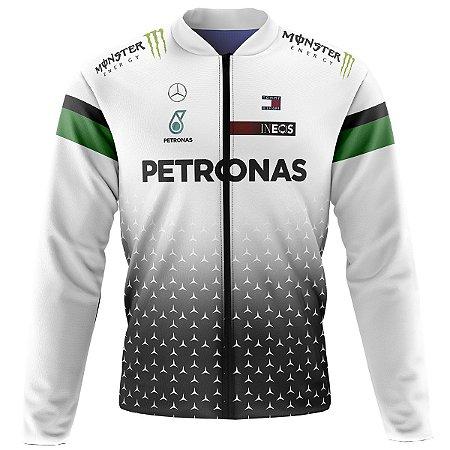 Jaqueta Térmica Ciclismo Mountain Bike Petronas Branca