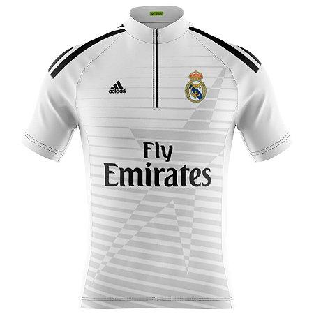 Camisa Ciclismo Mountain Bike Real Madrid