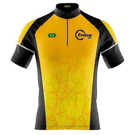 Camisa Ciclismo Masculina Mountain Bike Pro Tour Sertão