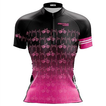 Camisa Ciclismo Feminina Mountain bike Pro Tour Bikes