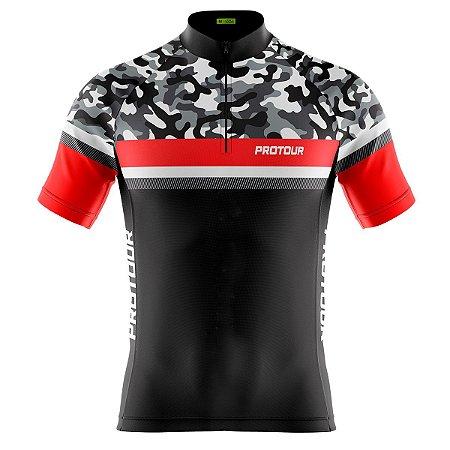 Camisa Ciclismo Masculina Mountain Bike Pro Tour Tática