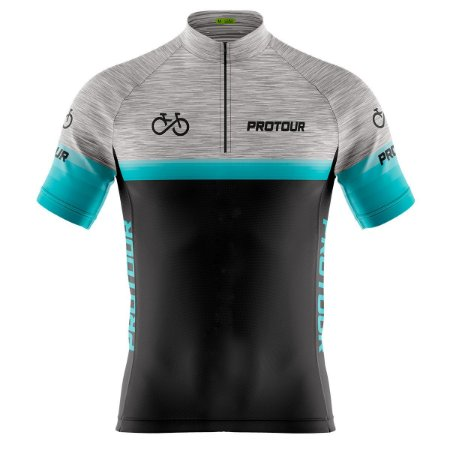 Camisa Ciclismo Masculina Mountain Bike Pro Tour Mescla