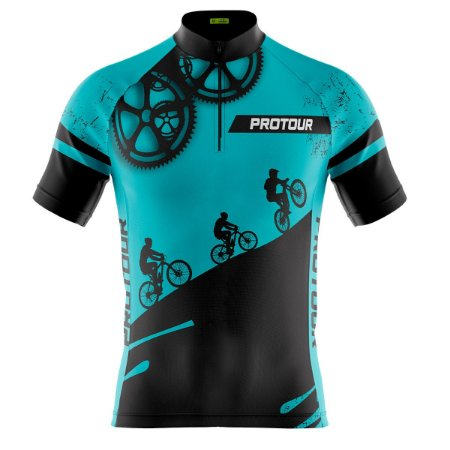 Camisa Ciclismo Masculina Mountain Bike Pro Tour Respeite O Ciclista