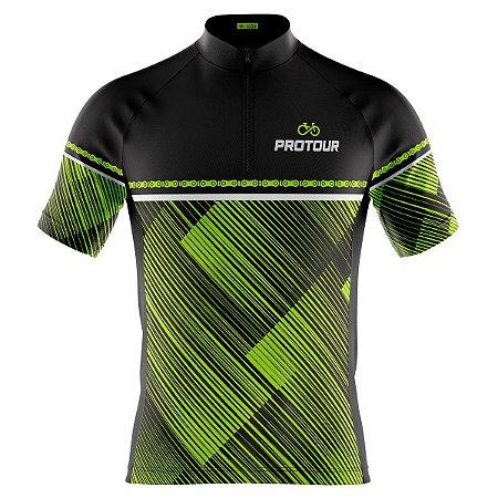 Camisa Ciclismo Masculina Mountain Bike Pro Tour Spyke
