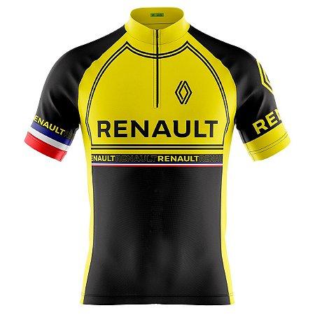 Camisa Ciclismo Masculina Mountain Bike Renault
