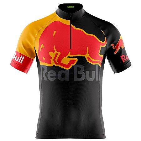 Camisa Ciclismo Masculina Mountain Bike Red Bull