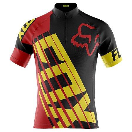 Camisa Ciclismo Masculina Mountain Bike Fox Racing