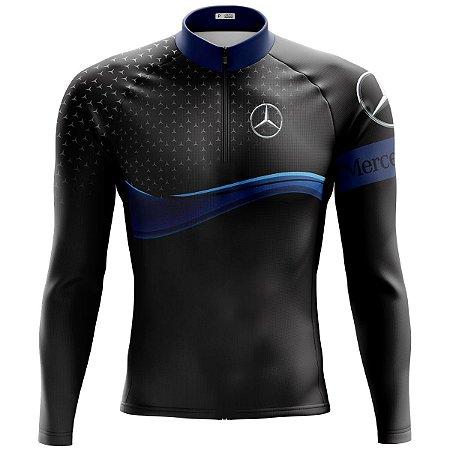 Camisa Ciclismo Masculina Mountain Bike Mercedes MOD 162