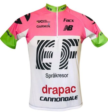 Camisa Ciclismo Cannondale Drapac EF