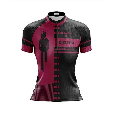 Camisa Ciclismo Mountain Bike Respeite o Ciclista