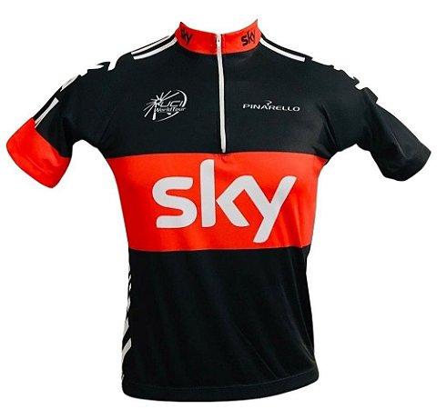 Camisa Ciclismo MTB Sky Vermelha