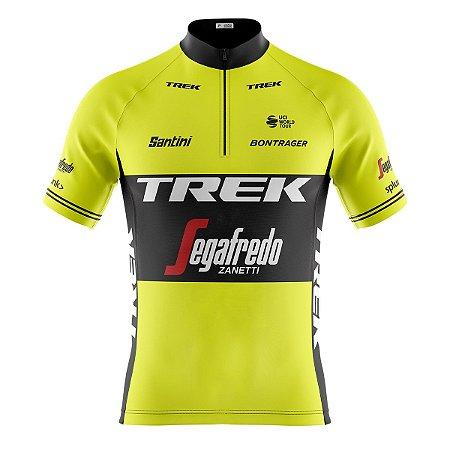 Camisa Ciclismo Mountain Bike Trek Segafredo
