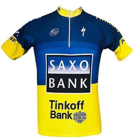 Camisa Ciclismo Saxo Bank