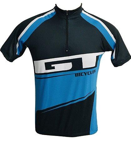 Camisa Ciclismo Mountain Bike GT Azul