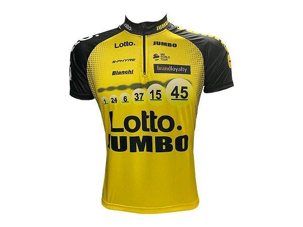 Camisa Ciclismo Mountain Bike Lotto Jumbo