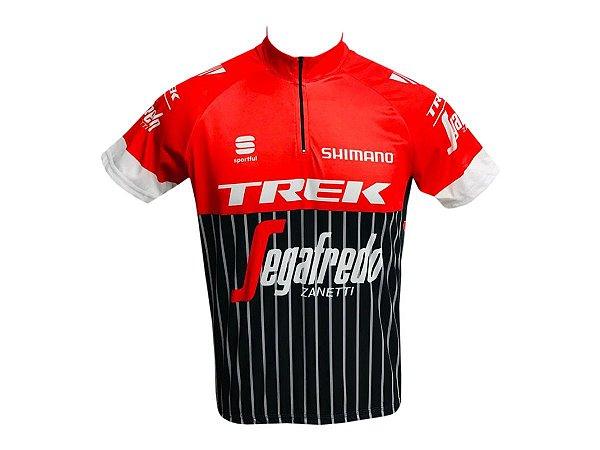 Camisa Ciclismo Mtb Trek Sagafredo