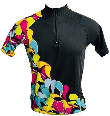 Camisa Ciclismo MTB Feminina Colors