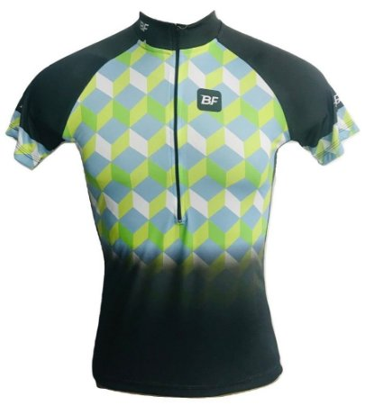 Camisa Ciclismo MTB Feminina Quadriculada