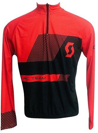 Camisa Ciclismo MTB Scott Team RC