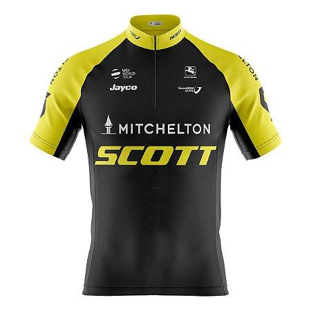 Camisa Ciclismo Mountain Bike Scott Mitchelton