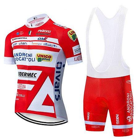 Conjunto Ciclismo Bretelle e Androni Giocattoli 2019
