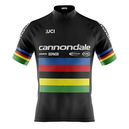 Camisa Ciclismo Mtb Cannondale Campeão Mundial