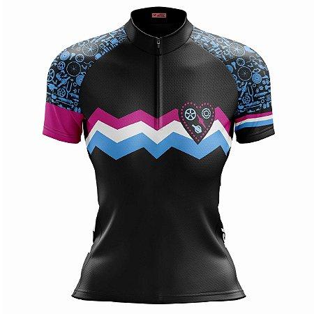 Camisa Ciclismo Mountain Bike Feminina Bike Peças